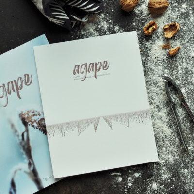 affiche offerte livre d'étude agape
