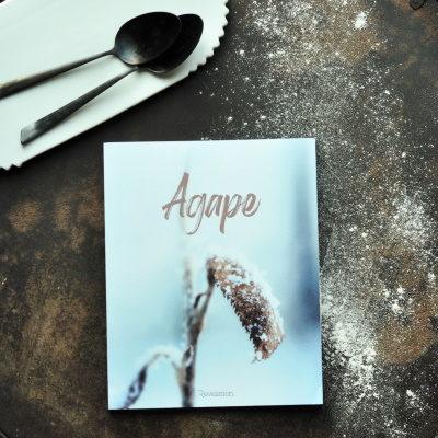 livre d'étude biblique Agape