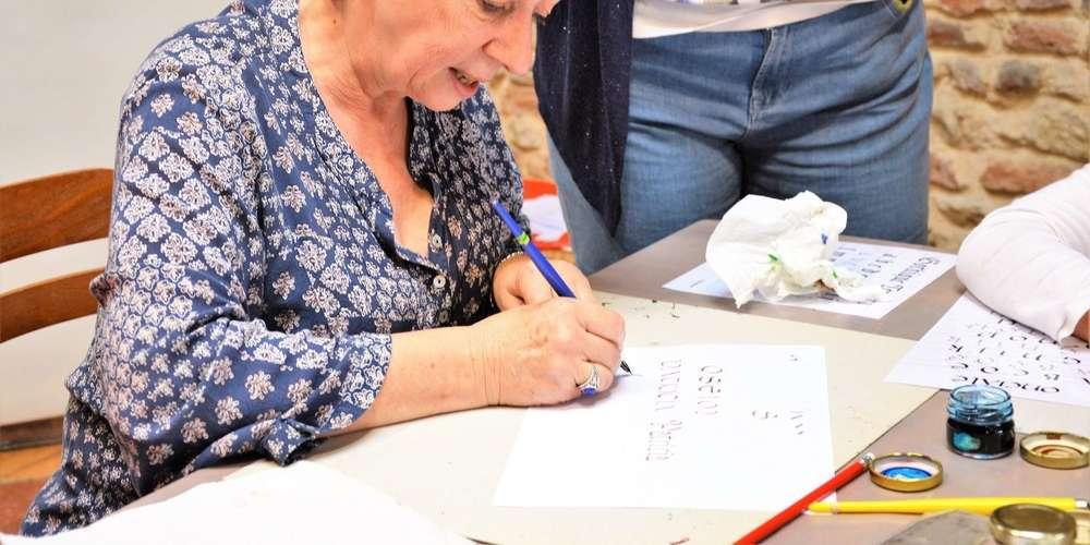 atelier calligraphie laurence bucourt