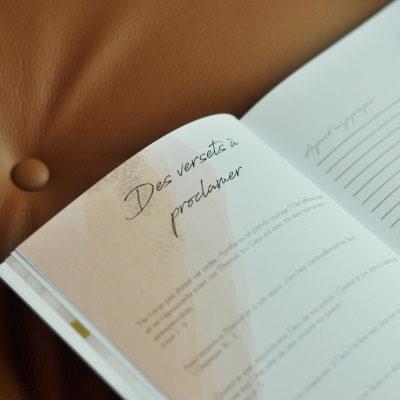 cahier de prière n°1 versets à proclamer